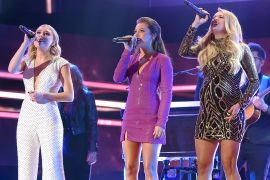 Maddie & Tae, Carrie Underwood; Photo by Jason Kempin/Getty Images for CMT