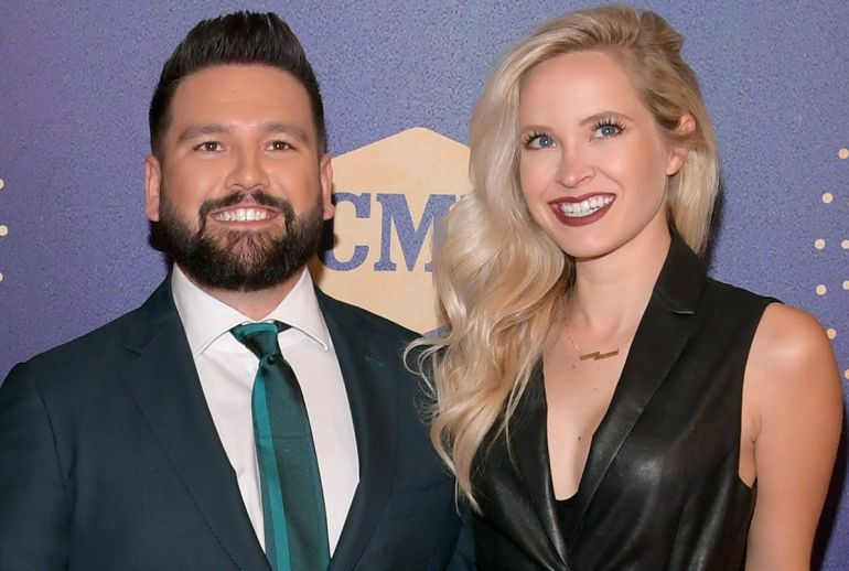 Shay Mooney and Hannah Billingsley; Photo by Jason Kempin/Getty Images for CMT/Viacom