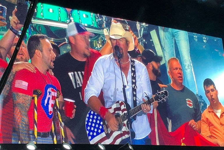 Toby Keith; Photo Courtesy The Independence Fund