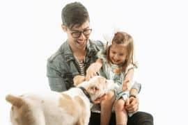 Adam Hambrick and Daughter; Photo by Osprey Media