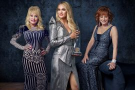Dolly Parton, Carrie Underwood, Reba McEntire; Photo by Mark Seliger/ABC