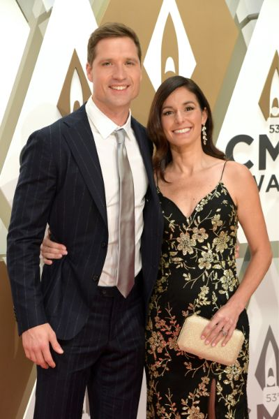 Walker Hayes and Laney Beville Hayes; Photo by Jason Kempin/Getty Images