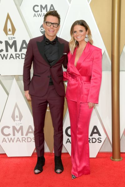 Bobby Bones and Amy Brown; Photo by Jason Kempin/Getty Images