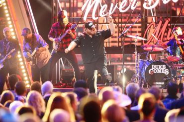 Luke Combs; Photo by Terry Wyatt/Getty Images