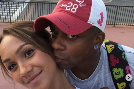 Jimmie Allen and Alexis Gale; Photo via Instagram