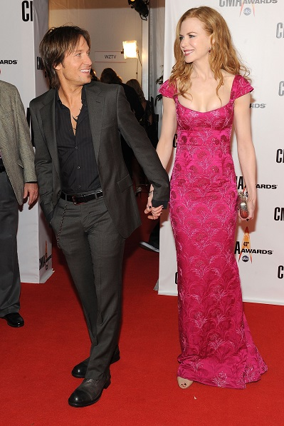 Keith Urban and Nicole Kidman; Photo by Frederick Breedon/Getty Images