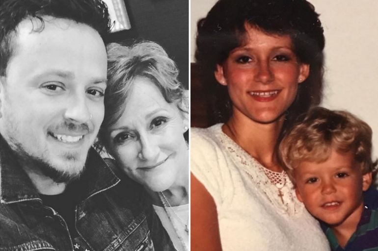Stephen Barker Liles and Mother, Susie; Photos via Instagram