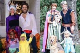 Thomas Rhett and Family, Tyler Hubbard and Family; Photos via Instagram