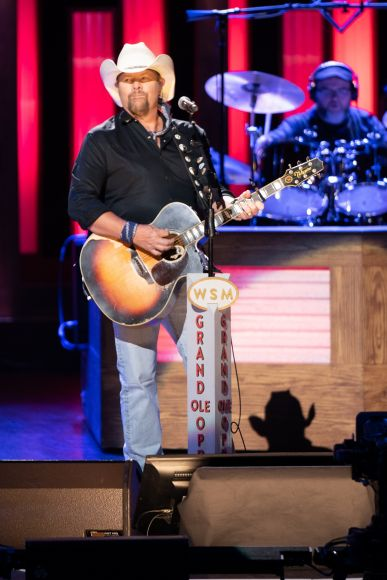 Toby Keith; 2019 Photo by Chris Hollo © Grand Ole Opry