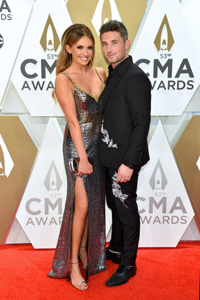 Carly Pearce and Michael Ray; Photo by John Shearer/WireImage