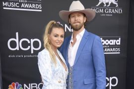Brittney Marie Cole Kelley and Brian Kelley of Florida Georgia Line; Photo by Frazer Harrison/Getty Images