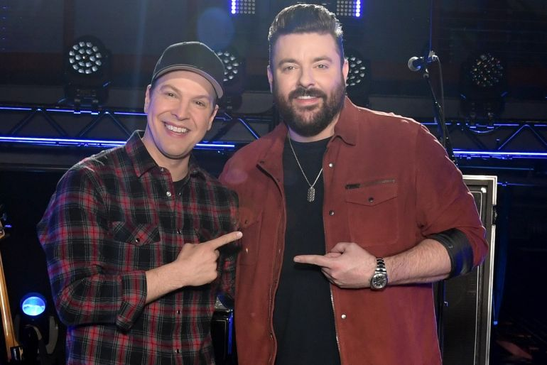 Gavin Degraw and Chris Young; Photo by Jason Kempin/Getty Images for CMT/Viacom