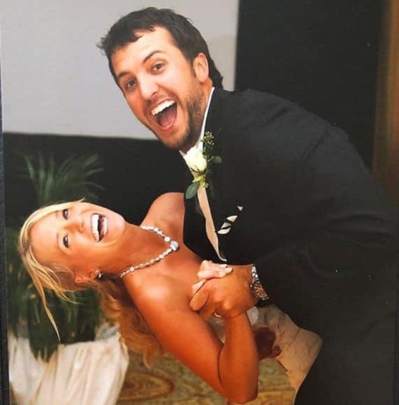 Luke Bryan and Wife Caroline; Photo via Instagram