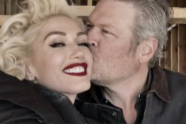 Blake Shelton and Gwen Stefani; Nobody But You Video