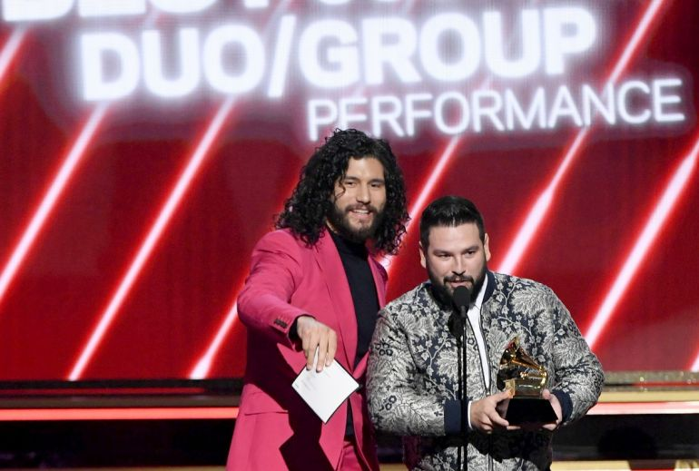 Dan + Shay; Photo by Kevin Winter/Getty Images for The Recording Academy