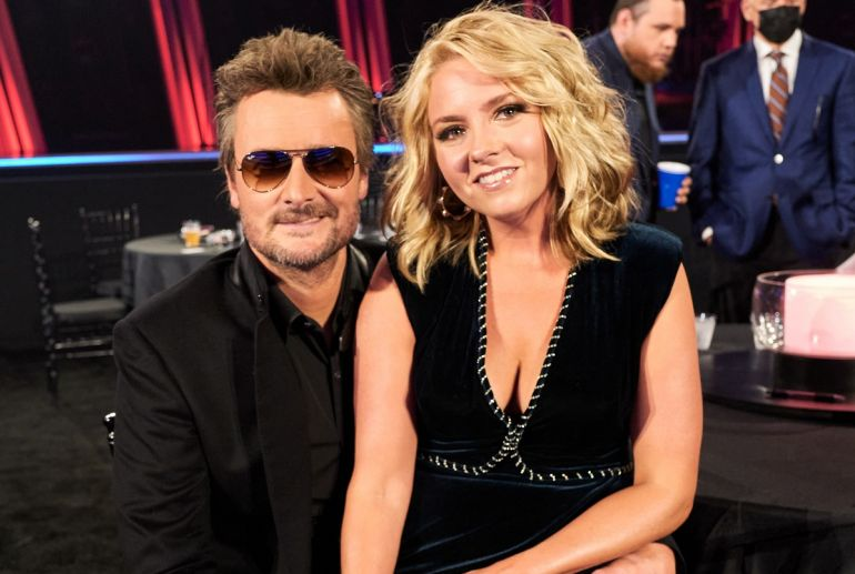 Eric Church and Katherine Blasingame; John Shearer/Getty Images for CMA