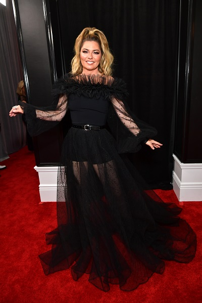 Shania Twain; Photo by Emma McIntyre/Getty Images for The Recording Academy
