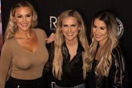 Brittany Aldean, Caroline Hobby, Katelyn Brown; Photo by Osprey Media