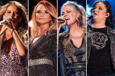 Maren Morris, Miranda Lambert, Carrie Underwood, Ashley McBryde; Photos by Andrew Wendowski