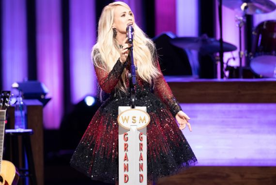 Carrie Underwood; Photo Courtesy Grand Ole Opry, Chris Hollo