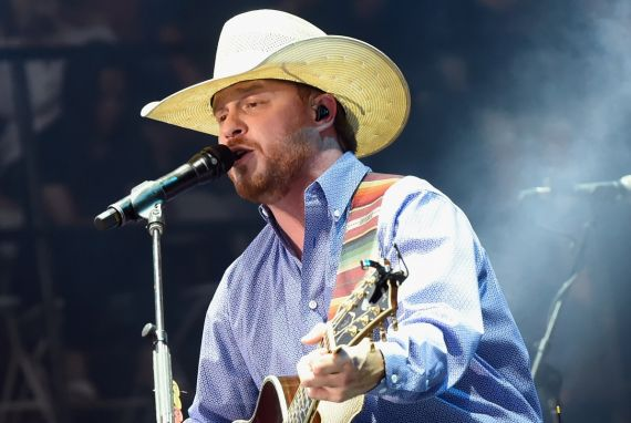 Cody Johnson; Photo by Rick Diamond/Getty Images for Country Thunder USA