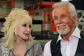 Dolly Parton, Kenny Rogers; Photo by Rick Diamond/Getty Images