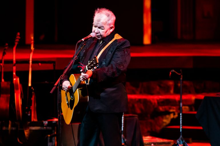 John Prine; Photo by Rich Fury/Getty Images