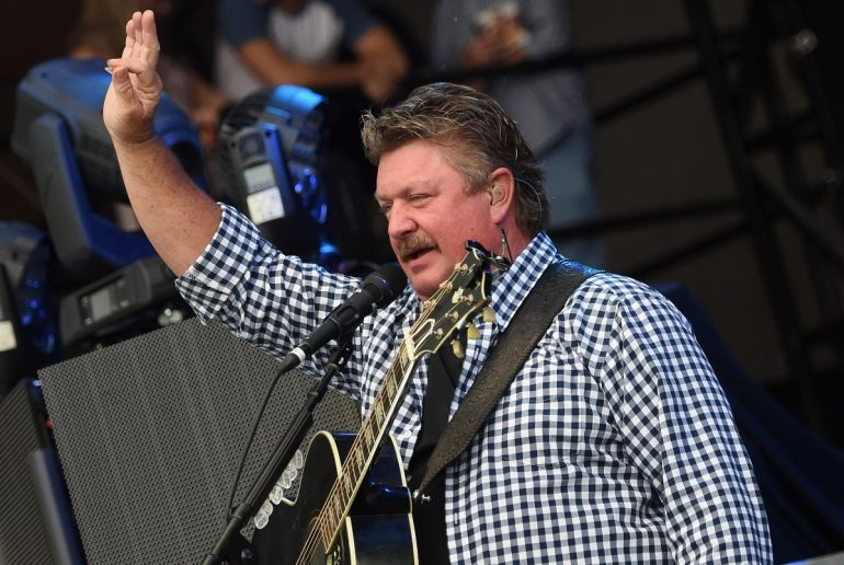 Joe Diffie; Photo by Rick Diamond/Getty Images for Pepsi's Rock The South