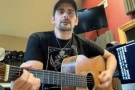 Brad Paisley; Photo Courtesy of Paisley's Live Stream Concert