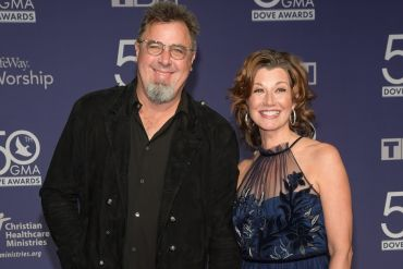 Vince Gill and Amy Grant; Photo by Jason Kempin/Getty Images