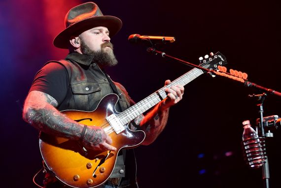 Zac Brown; Photo by Aaron J. Thornton/Getty Images for Entercom