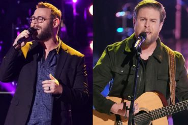 'The Voice' Contestants Cam Spinks and Todd Tilghman; Photo Courtesy of Tyler Golden/NBC