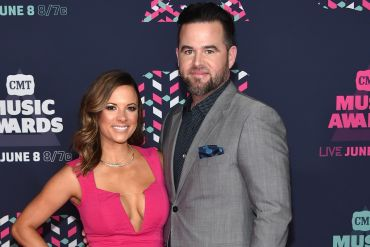 David Nail and Wife, Catherine; Photo by Mike Coppola/Getty Images for CMT