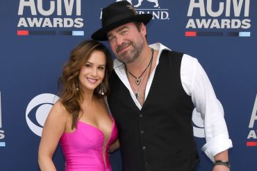 Sara Brice and Lee Brice; Photo by Ethan Miller/Getty Images