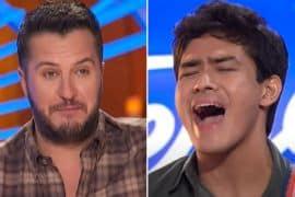 Luke Bryan, Francisco Martin; American Idol