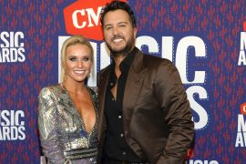 Luke Bryan and wife, Caroline; Photo by Rick Diamond/Getty Images for CMT
