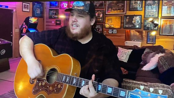Luke Combs; Photo Courtesy of CBS/ACM Presents: Our Country