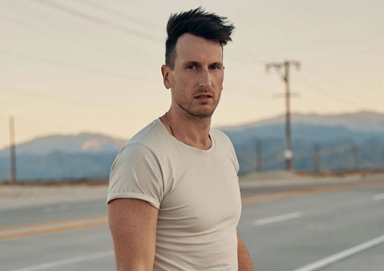 Russell Dickerson; Photo by Spencer Combs