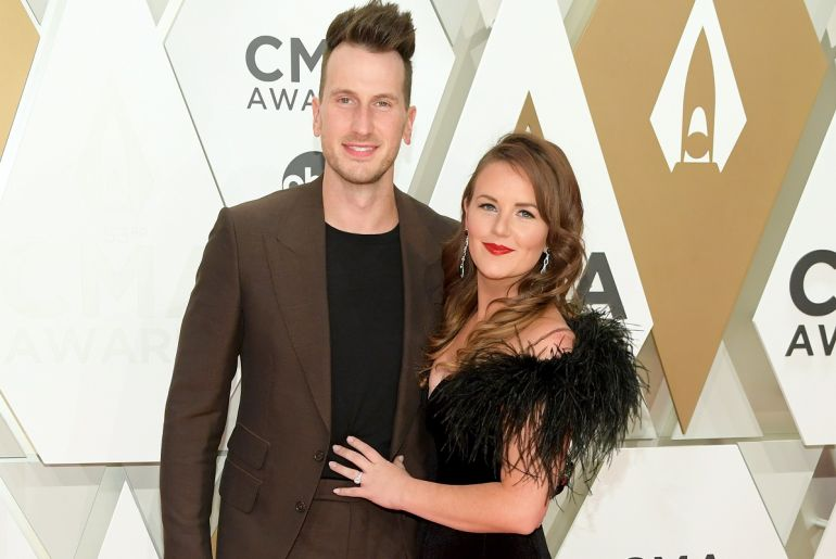 Russell Dickerson and Kailey Dickerson; Photo by Jason Kempin/Getty Images