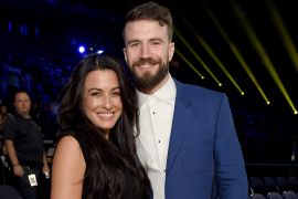 Sam Hunt and Hannah Lee Fowler; Photo by Jason Kempin/Getty Images for CMT