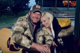 Blake Shelton and Gwen Stefani; Photo Courtesy of CBS/ACM Presents: Our Country