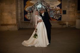 Dwight Yoakam and Emily Joyce; Photo by Britt Arnett