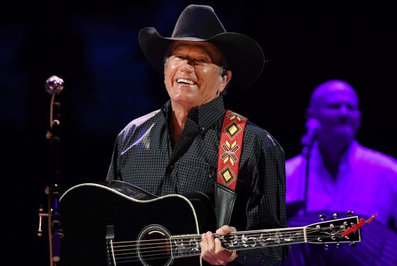 George Strait; Photo by Ethan Miller/Getty Images for Essential Broadcast Media
