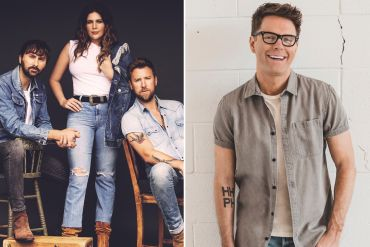 Lady Antebellum; Photo by Dove Shore, Bobby Bones; Photo by Taylor Kelly