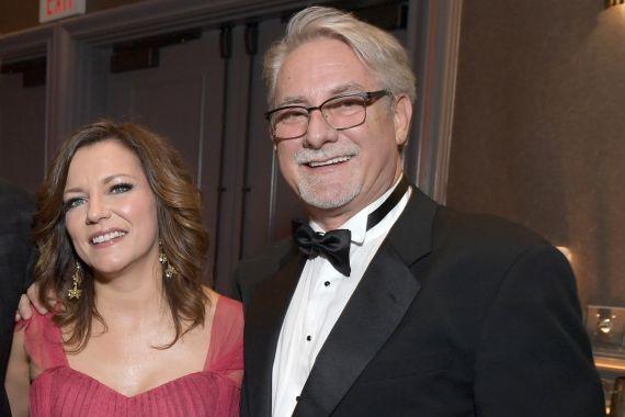 Martina McBride and John McBride; Photo by Jason Kempin/Getty Images