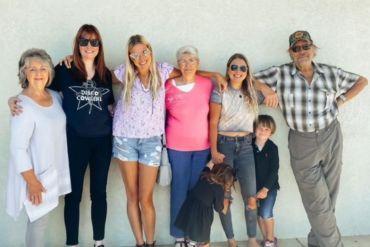 Williams Family; Photo Courtesy Holly Williams