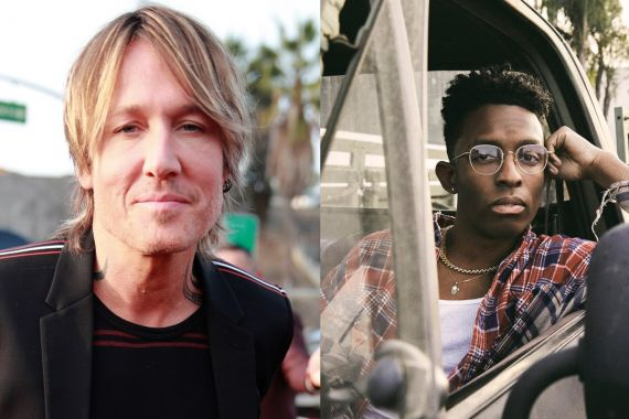 Keith Urban; Photo by Rich Fury/Getty Images for The Recording Academy; Breland; Photo Provided