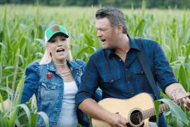 Blake Shelton, Gwen Stefani - Happy Anywhere