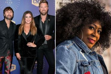 Lady A; Photo by Jason Kempin Getty Images for CMT Viacom, Anita Lady A White; Photo Courtesy Midwest Records