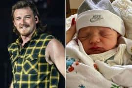 Morgan Wallen Baby Indigo Wilder